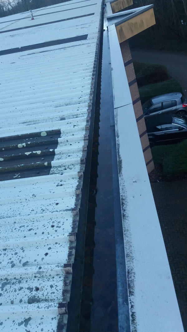 Commercial Gutter Cleaning Southampton - Commercial Gutter Cleaning Hampshire - A Plus Cleaning Services - After Photo